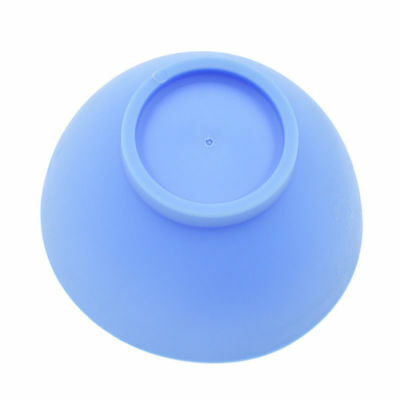 Dental Lab Mixing Bowl Blue Nonstick Flexible Silicone Rubber Impression Cup 7