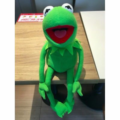 6/'/'//22/'/' BIG Eden Full Body Kermit the Frog Hand Puppet Meme Plush Toy Christmas