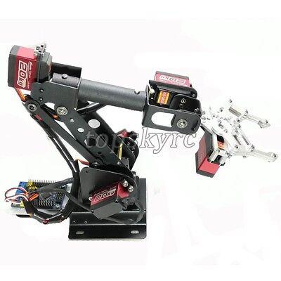 SZ Top Assembled 6DOF Robot Arm Clamp Set DIY Robotic Kit W/ Large Torque Servo 6