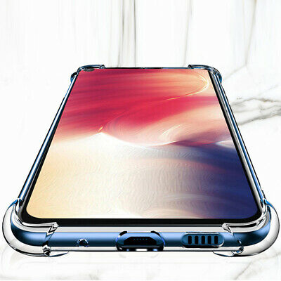 Shockproof Case For Samsung Galaxy A70 A50 A40 A30 A20 A10 Clear Silicone Cover 4