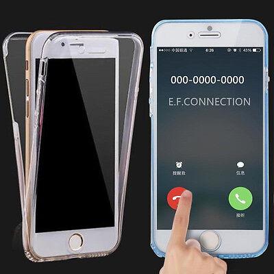 Coque Housse 360 Silicone Integral Pour Samsung S8/s9/s5/s6/s7/edge J3/j5 A5/a8 8
