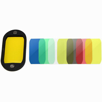 Selens High Quality Honeycomb Grid With 7 Color Gels Set For Speedlight Flashes 9