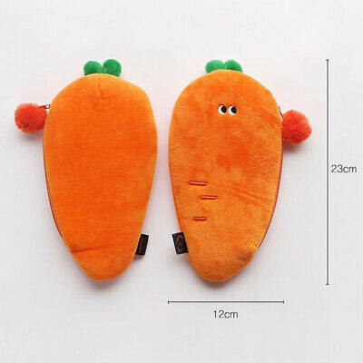 Funny Vegetables Soft Plush Type Pencil case Pen Bag Stationery Tavel Organizer 4