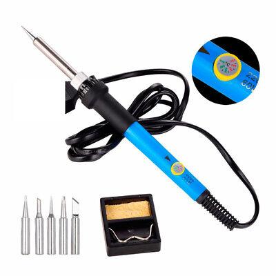 35-100W Adjustable Electric Temperature Gun Welding Soldering Iron Tool Kit 110V