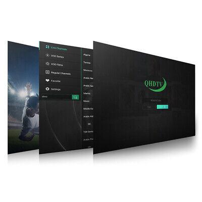 PROMO tv en ligne code   QHDTV, BOX, smarttv 12 mois 2