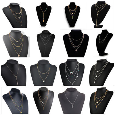 Fashion Chain Necklace Pendant Jewelry Charm Women Party Accessories Necklaces 5