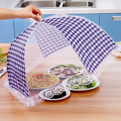 Summer Kitchen Food Cover Tent Umbrella Outdoor Camp Cake Mesh Net Mosquito BJ 5