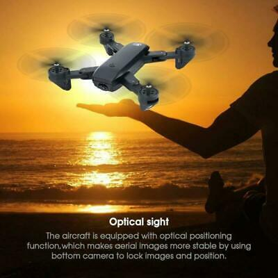 Cooligg S169 Drone Selfie WIFI FPV Dual HD Camera Foldable RC Quadcopter Toy 10