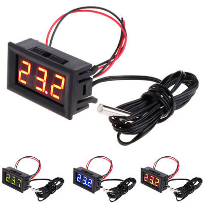 -50~110°C LCD Digital Auto Thermometer Gauge Temperaturanzeige Outdoor Home 4