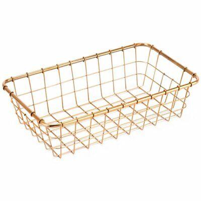 Zuo 3 Piece Basket Set in Gold 6