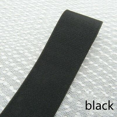 1M Stretch Elastic Latex Band Fabric Wide 4cm Underwear Neckline Cuff Hem Belt
