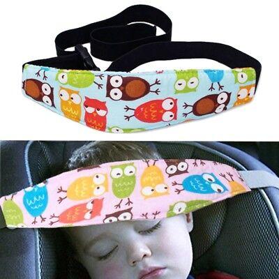 Baby Car Sleep Positioner Head Support Stroller Seat Fastening Belt Sleep Safety 3