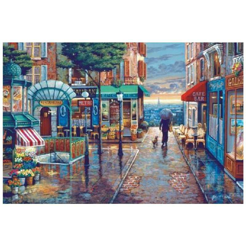 Kids Adult Puzzle 1000 Pieces Mini Jigsaw Decompression Game Toys Gifts Home 9