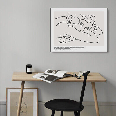 Matisse Art Abstract Poster Canvas Art Wall Print Nordic Simple Room Decoration 3