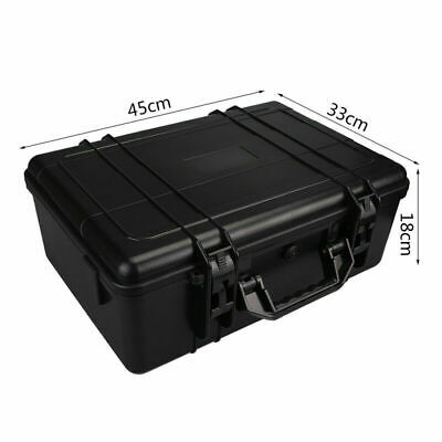 Protective Equipment Hard Carry Case Plastic Box Camera Travel Protector 2 Sizes 11