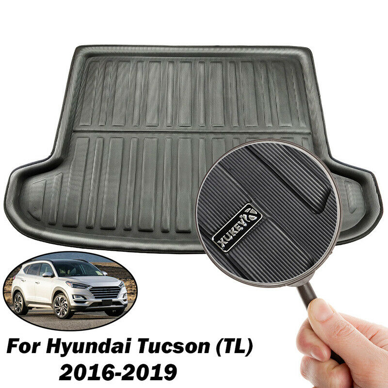 Boot Cargo Floor Mat Liner Rear Trunk Tray For Hyundai Tucson 2016 2017 2018 19 5