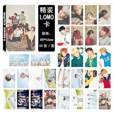 Lot of /set KPOP Bangtan Boys Collective Album Posters Photo Card Lomo card 5