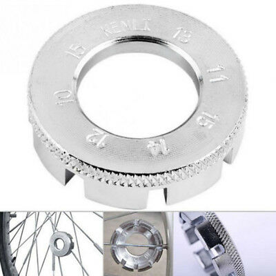 Bike Spoke Key Tool Spoke Adjuster Cycle Bicycle Wrench Spanner Wheel Rim Tight 5