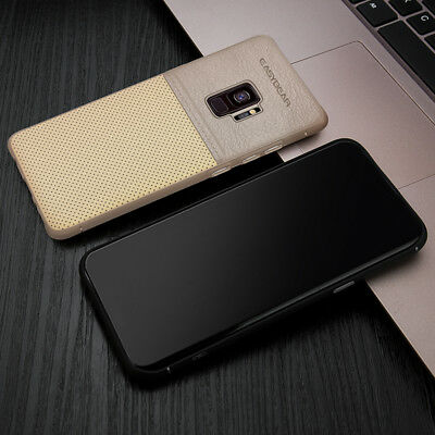 Fits Samsung Galaxy S9/S8/Plus/Note 8 Luxury Leather Thin Slim Hard Case Cover
