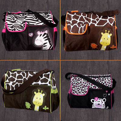 AU4 styles Baby Diaper Nappy Mummy Changing Handbag Shoulder Bag with Mat Travel 2