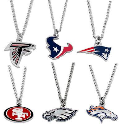 logo necklace charm pendant NFL PICK YOUR TEAM 8
