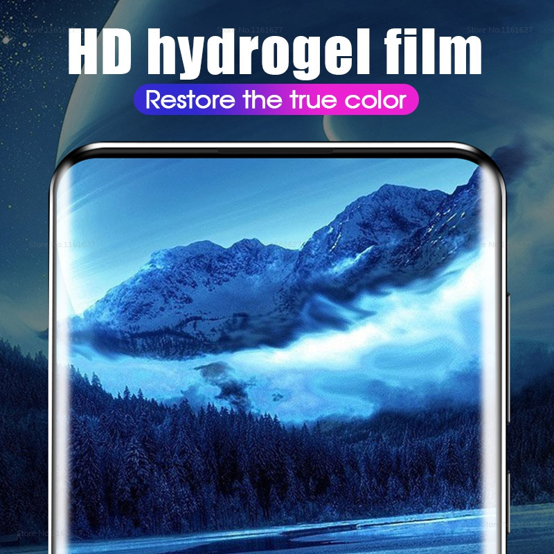 For Huawei P30 Pro P30 Lite HYDROGEL Full Coverage Screen Protector Film Gurd 2
