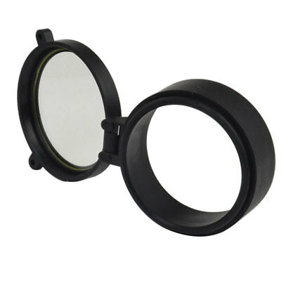 Rifle Scope Quick Flip Spring Up Open Gun Lens Cover See-thru Objective Cap 4