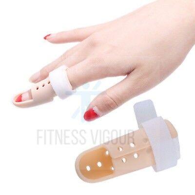 New Mallet DIP Finger Fracture Plastic Splint PIP Joint Support Injury UK SELLER 7