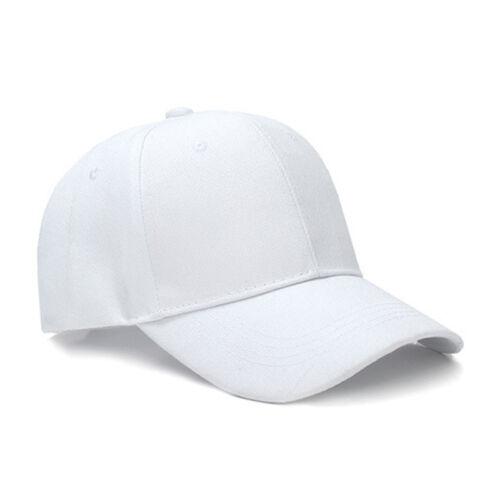 Baseball Cap Women Men Plain Snapback Trucker Sports Caps Sun Hats Summer Unisex 3