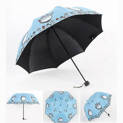Women's Accessories Anti UV Sun Rain Umbrella Manual Open Feather Parasol Windproof 8 Ribs 3 Folding