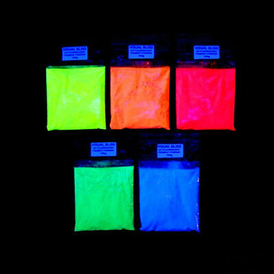 Pigmento ULTRA fluorescente UV luminescente!  IDEALE per la Resina Epossidica 2