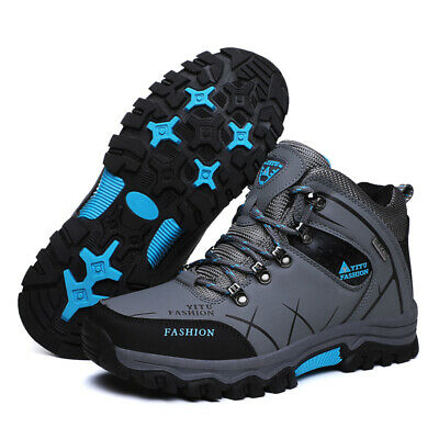 Men's Winter Snow Boots Warm Sports Outdoor Waterproof Ankle Hiking Work Shoes 3