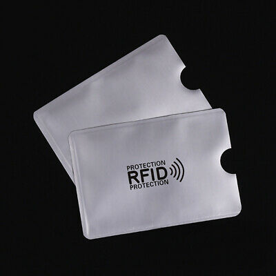 10pcs RFID Blocking Sleeve Credit Card Protector Bank Card Holder for Wallets 8