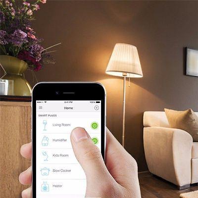 Enchufe Domotica Temporizador Wifi Remoto Smart Inteligente Con Interruptor 5