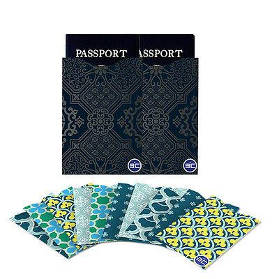 Fashion I3C RFID Blocking 10 Credit Card&2 Passport Holder Protector Sleeves DT4