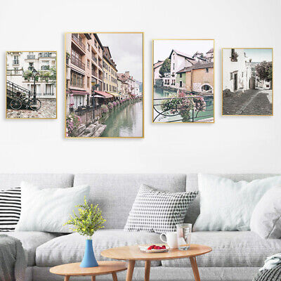 Scandinavian Wall Art Canvas Poster Nordic Scenery Print Home Decoration Picture 2