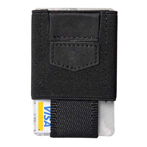 a2f6f0197a037 1 von 6Kostenloser Versand Vordertasche minimalistisch EDC Slim Wallet 15  Kartenhalter für Männer Bargeld F