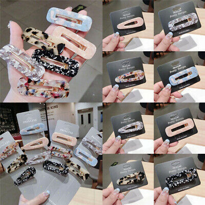 Pearl Acrylic Crystal Hair Clip Slide Hair Pin Barrette Bridal Hair Accessories 7