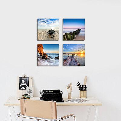 Modern Landscape Seascape Photo Canvas Print Home Decor Wall Art Poster Framed 3