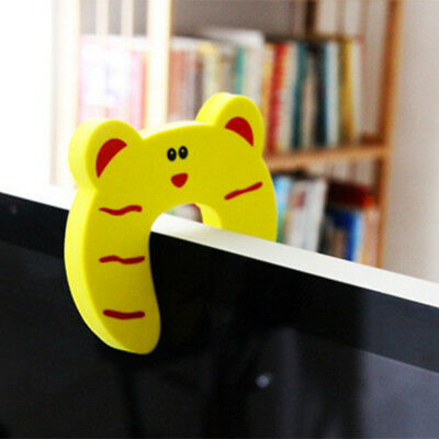 5/10pcs Children Baby Safety Cartoon Door Stopper Clip Clamp Pinch Hand Security 8
