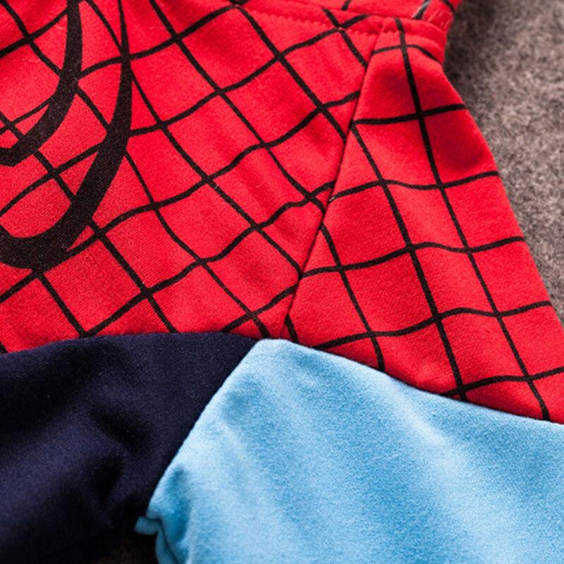AU Boys Girls Kids Superhero Captain America Iron Man Hulk Costume Hoodie Jacket 11