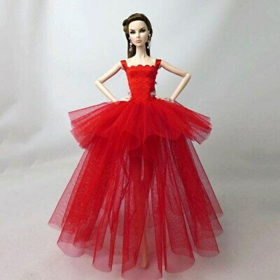Fashion Costume Clothes For 11.5in. Doll Dress Party Dresses Outfits 1/6 Doll 3