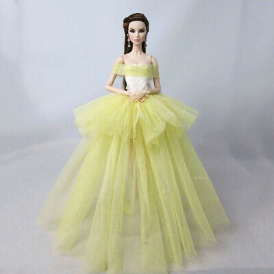 Fashion Costume Clothes For 11.5in. Doll Dress Party Dresses Outfits 1/6 Doll 7