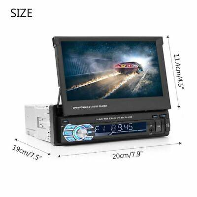 "7"" Autoradio 1Din Mit Gps Navigation Navi Bluetooth Touch Screen Usb Sd Mp3 Map 11"
