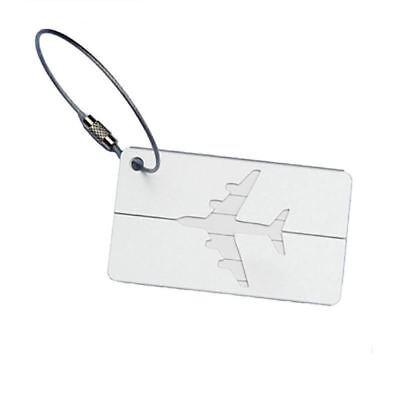 Aluminium Travel Luggage Tag Baggage Suitcase Bag Identity Address Name Labels 12
