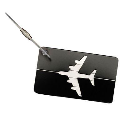 Aluminium Travel Luggage Tag Baggage Suitcase Bag Identity Address Name Labels 8