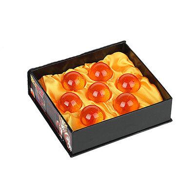 1set 7 Stars Crystal Balls 3.5CM Dragon Ball Z Set New Box 7 Pcs Complete Set
