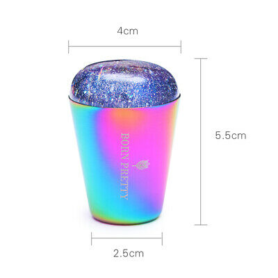 BORN PRETTY Jelly Silicone Nail Art Stamper Holographic Clear Stamping Nail Tool 3