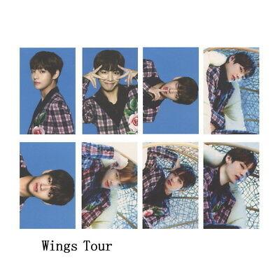 KPOP Bangtan Boys Love Yourself Tear WINGS Wings Tour Self Made Photo Card 12