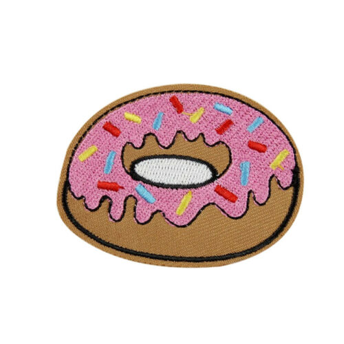 8pcs Mixed Patches Iron On Embroidered Appliques DIY Clothes Apparel Accessory9H